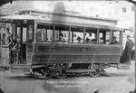 Huntington's First Electric Streetcar by Marshall University