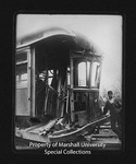 Wrecked Camden Interstate Railway Streetcar, Car #101