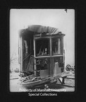 Wrecked Camden Interstate Railway Streetcar, Car #101 by Marshall University