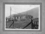 C&O RR roundhouse construction, Logan, W.Va.