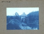 Unidentified location, sawmill on river.