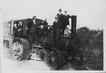 Steam tractor, Logan County, W.Va., ca. 1920