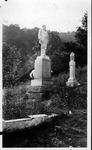 Devil Anse Hatfield's monument, Hatfield Cemetery, Logan County, W.Va.