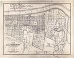 1903 Huntington Land Company Map by Huntington Land Company