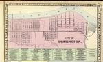 M. Wood White's 1872 Map of Huntington, W.Va. by M. Wood White