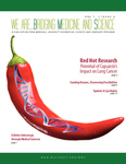 We Are… Bridging Medicine and Science Vol. 1, Issue 2, Fall 2012