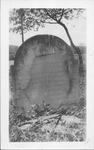 Thomas Hannon grave at Little Guyan, Cabell Co., W.Va.