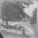Scene on Four Pole Creek, Huntington, W.Va.