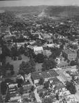 Aerial view of Marshall College, Huntington, W.Va.