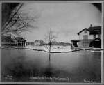 Flood of 1913, Looking East On Fifth Ave. From Fourteenth St, Huntington, W.Va.