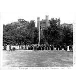 Unveiling ceremony of John Marshall bust statue, June 3, 1937, Marshall College