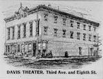 Davis Theater, Third Ave. and Eighth St., Huntington, W.Va.