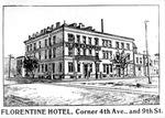 Florentine Hotel, Corner 4th Ave. and 9th St., Huntington, W.Va.