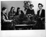 Huntington Woman's Club committee, Dec. 1956