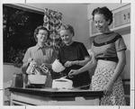 Huntington Woman's Club Baked Goods committee, 1955