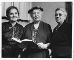 Huntington Woman's Club general meeting, May 2, 1955