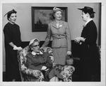 Huntington Woman's Club reinstatement of members, Apr. 1955