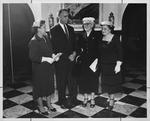 Huntington Woman's Club community affairs Dept., Oct. 1956