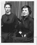 Huntington Women's Club tea hostesses, 1956