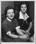 Huntington Women's Club veteran's kit committee, 1956