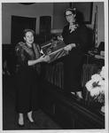 Golden Jubilee presentation to the Huntington Women's Club, Oct. 1954