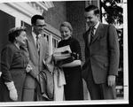 Huntington Women's Club pianists, Jan. 4, 1956