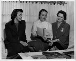 Huntington Women's Club civics panel, Feb. 1956