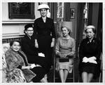 Huntington Women's Club buffet supper committee, Feb. 1956