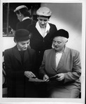 Huntington Women's Club officers. Jun 1956