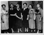 Hunt. Women's Club officers, 1956-58, May 2, 1956