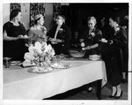 Hunt. Women's Club officers & new members, May 2, 1956