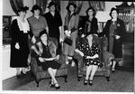 Huntington Women's Club officers, 1937-1939