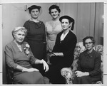 Huntington Women's Club general meeting, Jan. 4, 1956