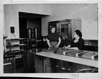 Huntington Woman's Club kitchen, Mar. 1953