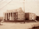 Huntington Woman's Club building, ca. 1930