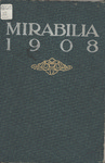 Mirabilia, 1908 (Marshall University Yearbook)